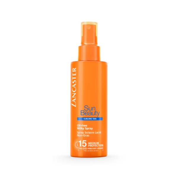 Sun Beauty Spray Leche Sin Aceite SPF15