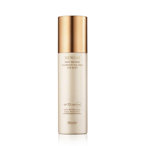 Silky Bronze Sun Protective Spray for Body SPF10