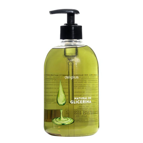 Jabón de Manos Natural de Glicerina Líquido