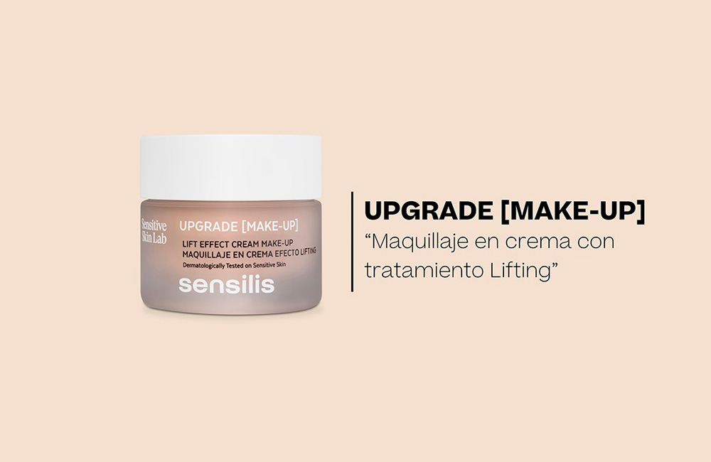 Upgrade [Make-Up], el nuevo maquillaje dermatológico de Sensilis