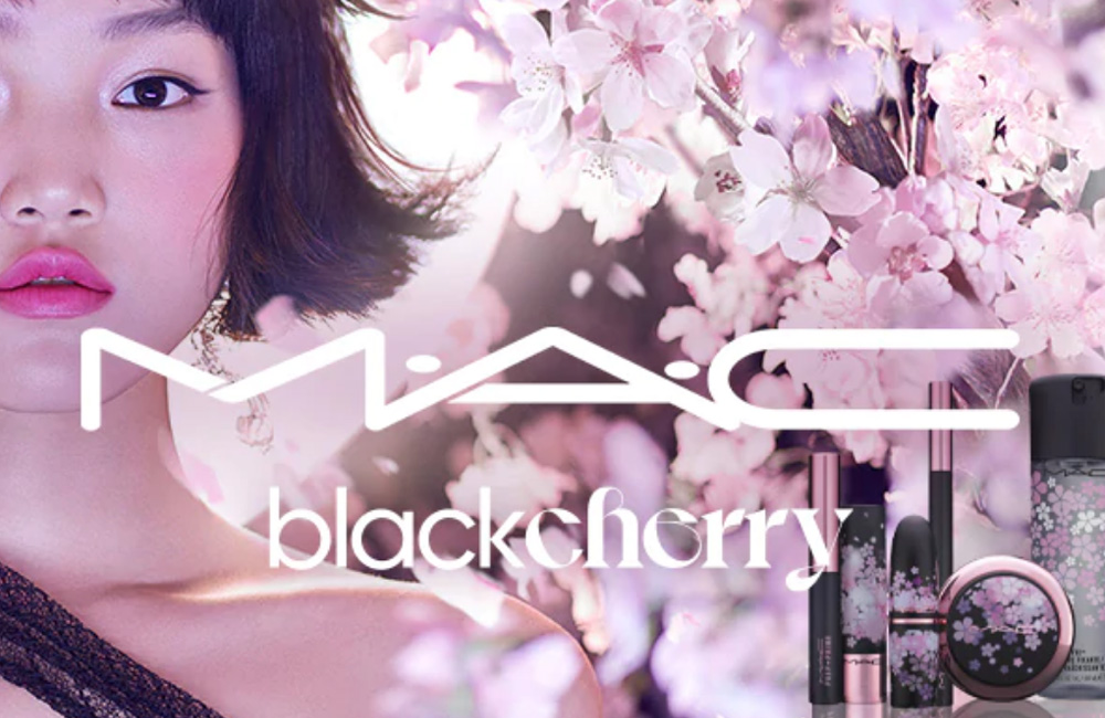La primavera ha llegado a MAC Cosmetics con su colección Black Cherry Collection