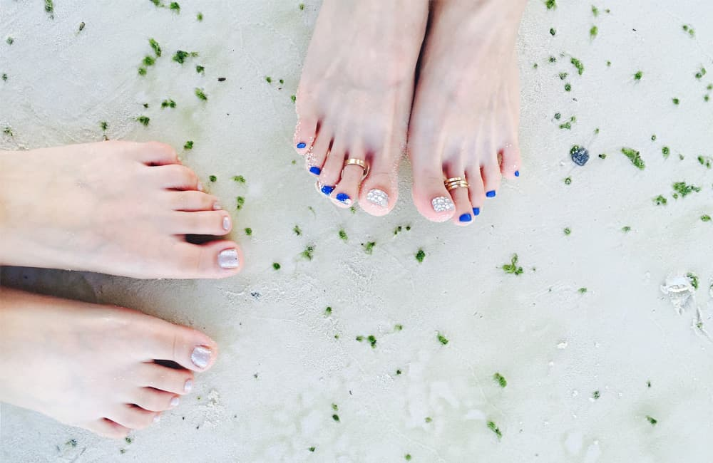 Consigue unos pies perfectos con la pedicura en casa