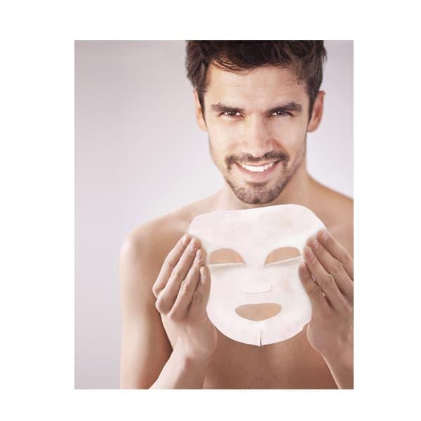 Mascarilla Facial Tisú para Hombre Hidra Vital con Vitamin Complex