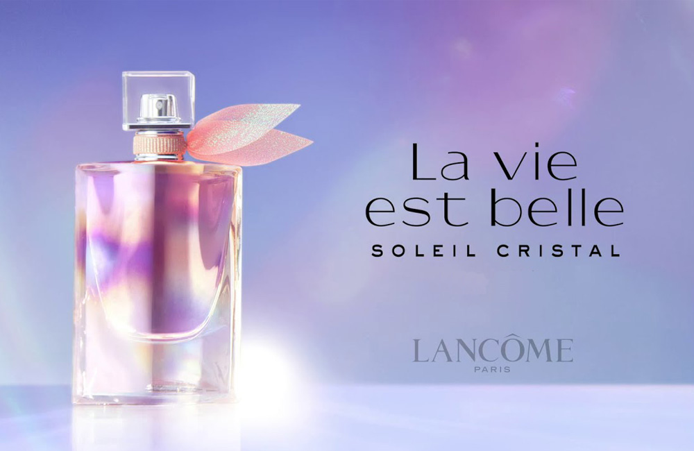 La Vie Est Belle Soleil Cristal completa la gama de fragancias de Lancôme
