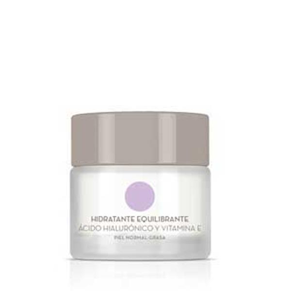 Crema Facial Hidratante con Ácido Hialurónico y Vitamina E Para Piel Normal a Grasa