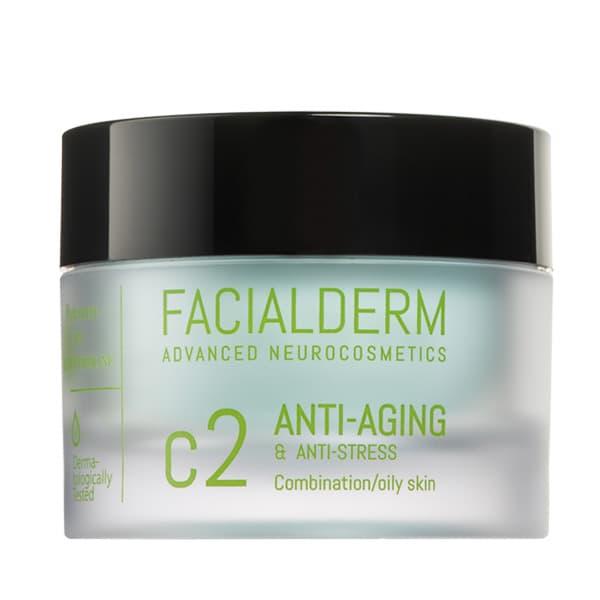 Crema Facial C2 Anti-Edad y Anti-Estrés