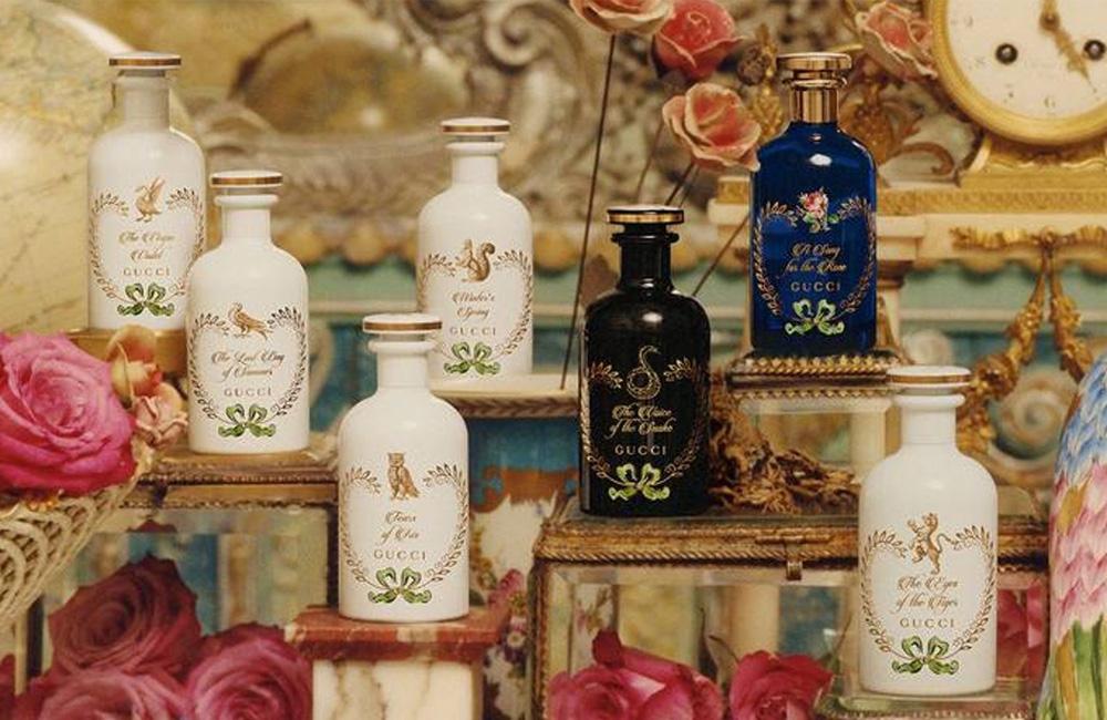 Gucci aumenta su colección exclusiva The Alchemist's Garden con el nuevo perfume Gucci Garden