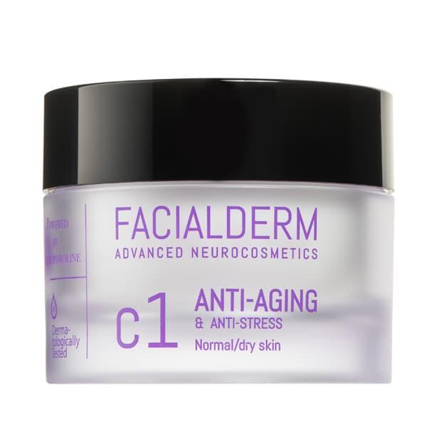 Crema Facial C1 Anti-Edad y Anti-Estrés