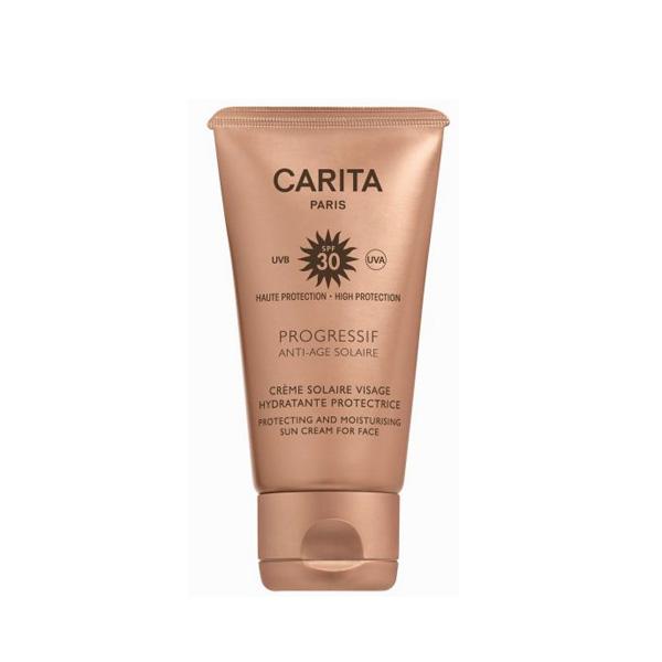 Progressif Anti-âge Solaire Crème solaire visage hydratante protectrice SPF30