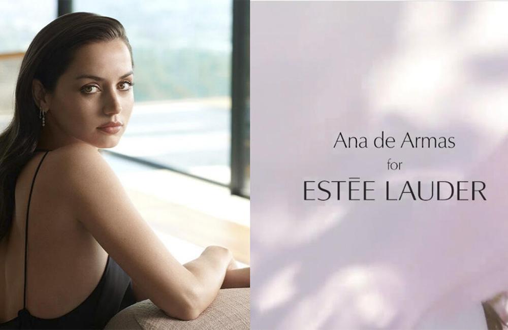 La fusión perfecta: Ana de Armas y Estée Lauder