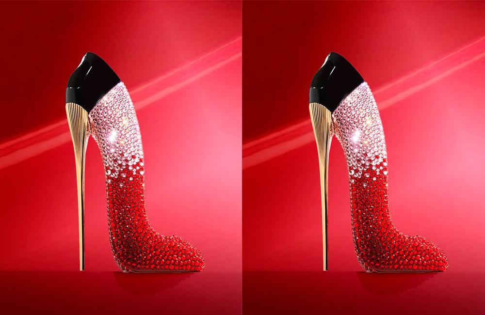 Cristales de Swarovski cubren la nueva edición del perfume Good Girl de Carolina Herrera