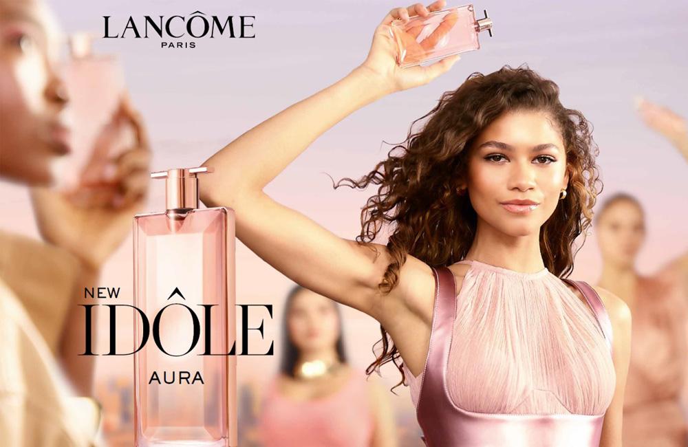 Idôle Aura la nueva apuesta de Lancôme con su perfume insignia
