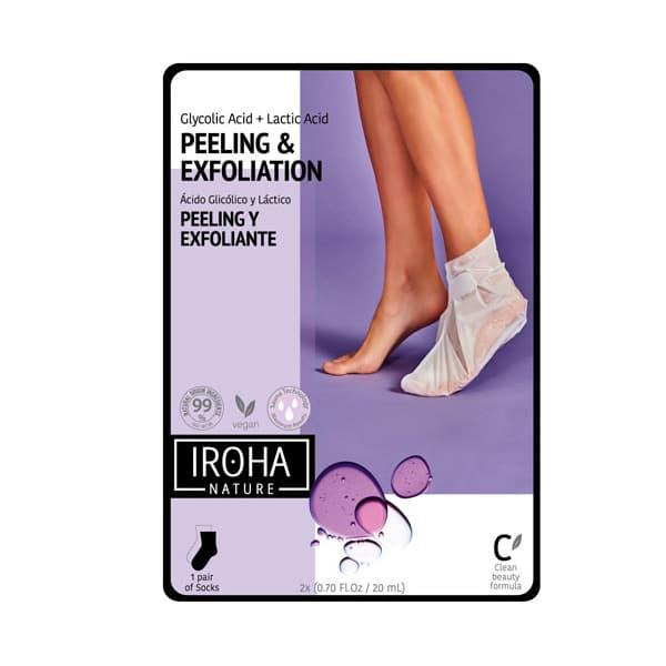 Calcetines Peeling y Exfoliantes con Ácido Glicólico