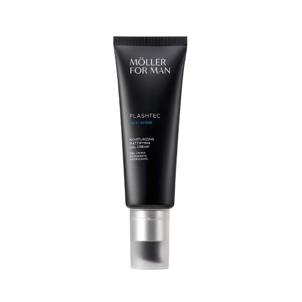 Möller for Man Flashtec Anti-Brillos Gel crema hidratante matificante