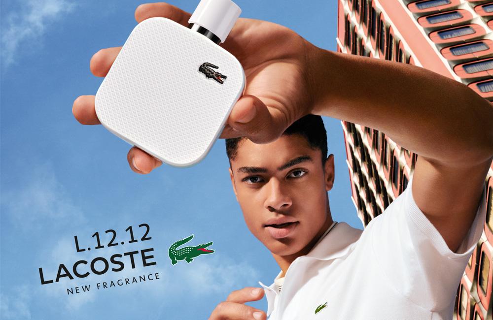 L.12.12 Blanc Eau de parfum añade intensidad al polo blanco de Lacoste
