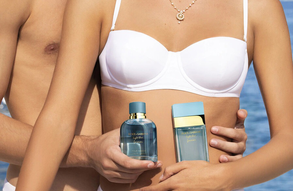 Dolce & Gabbana adelanta el verano con la nueva fragancia Light Blue Forever