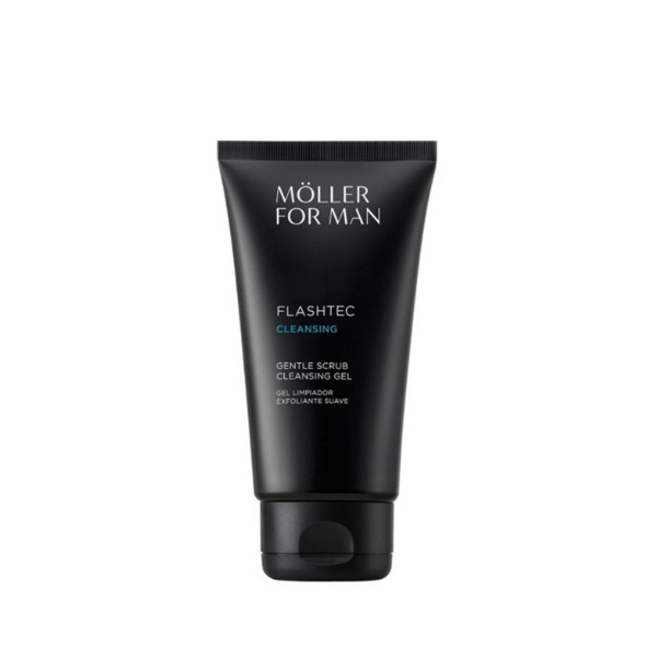 Möller for Man Flashtec Gel Limpiador Exfoliante suave