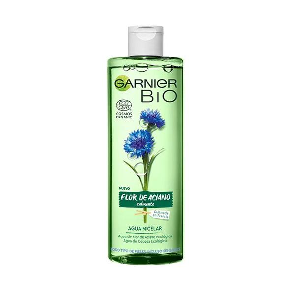 Bio Agua Micelar con Agua de Flor de Aciano y Cebada Ecológicas