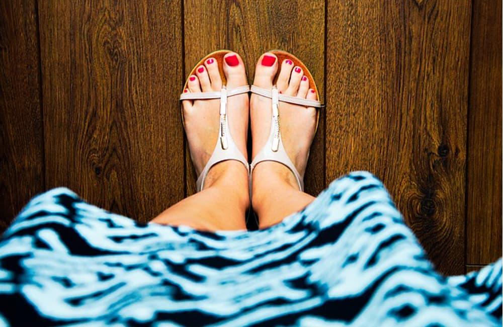 Llegó el calor y toca lucir unos pies perfectos