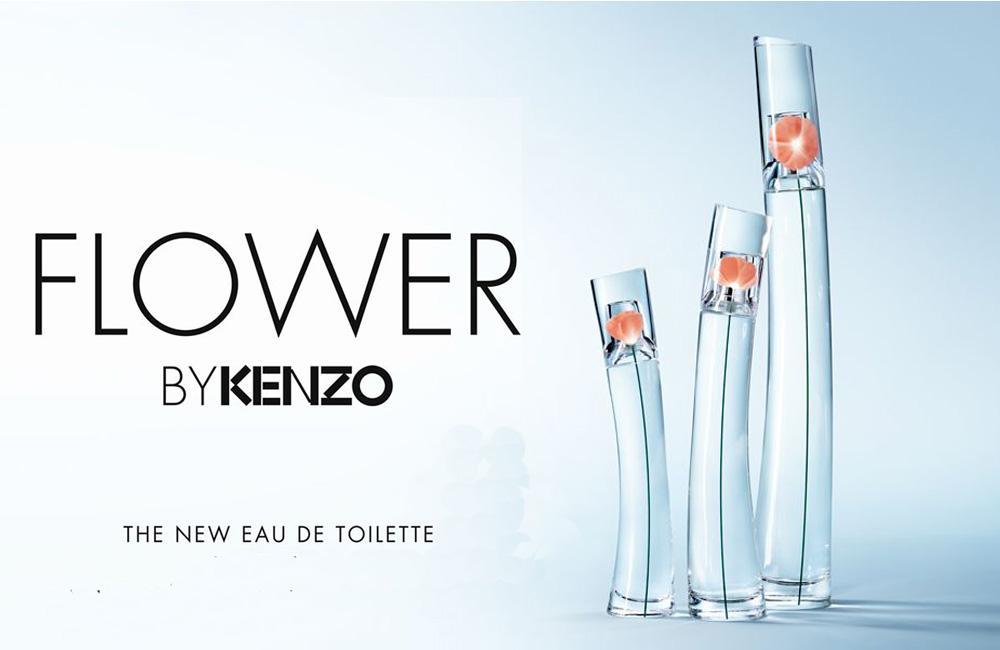 Flower by Kenzo Eau de toilette, la nueva versión de la flor de Kenzo ha llegado
