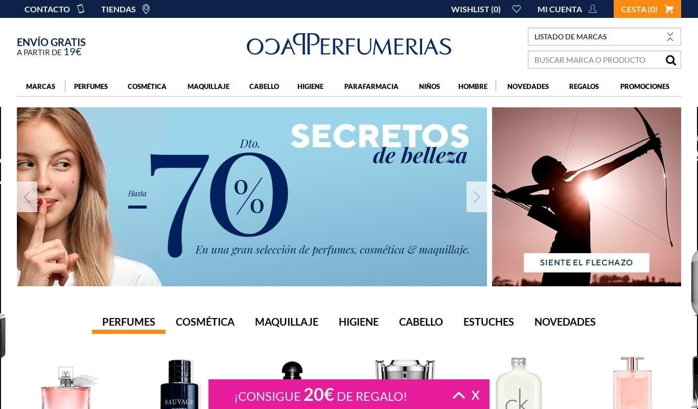 Paco Perfumerías
