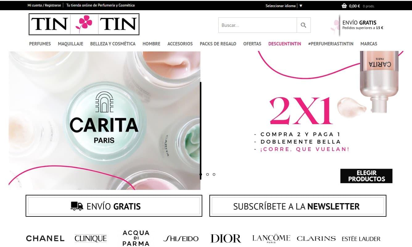 Perfumes Tin Tin